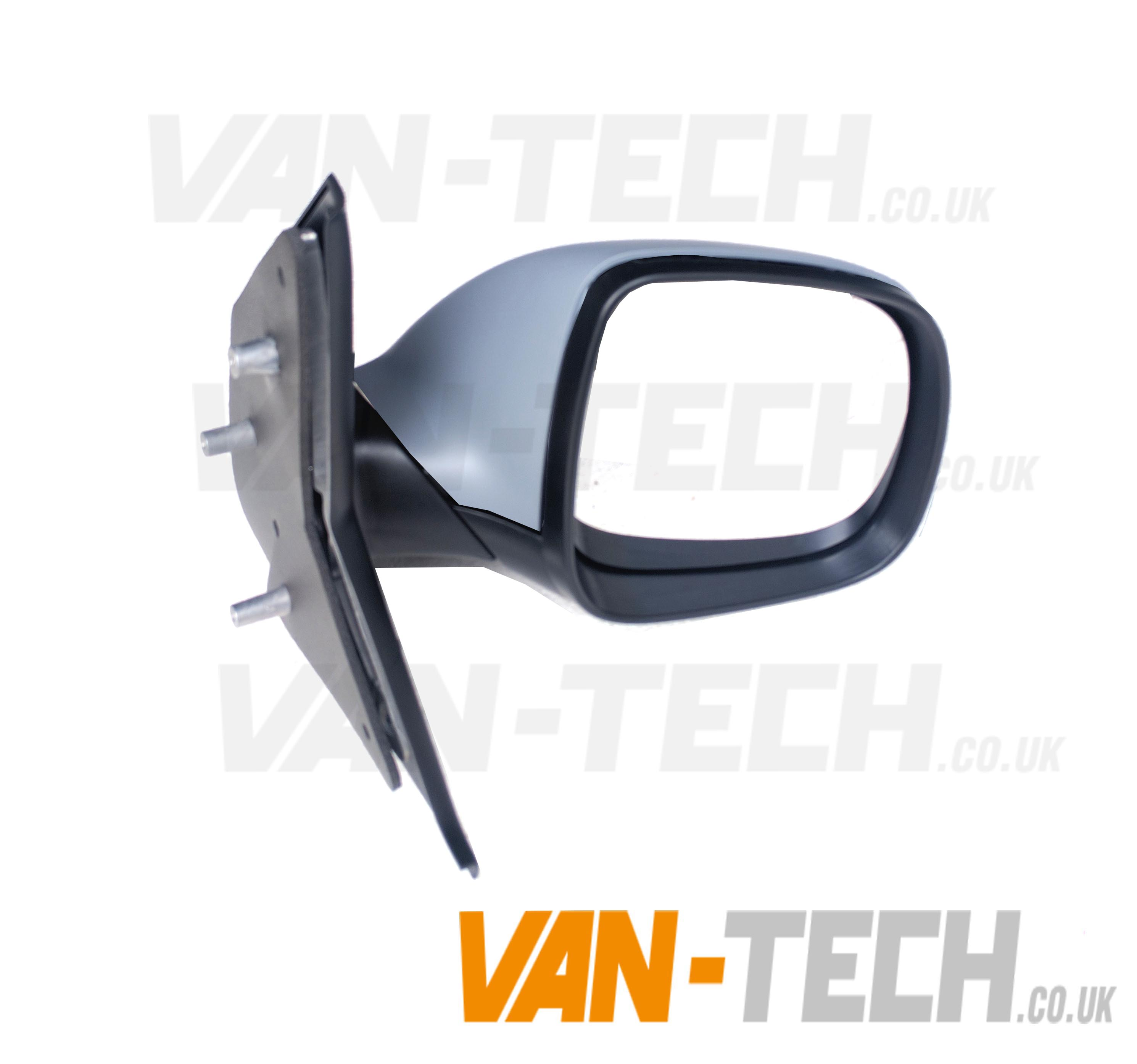 Vw Transporter 2010-2015 Door Wing Mirror Electric Black Passenger Side New