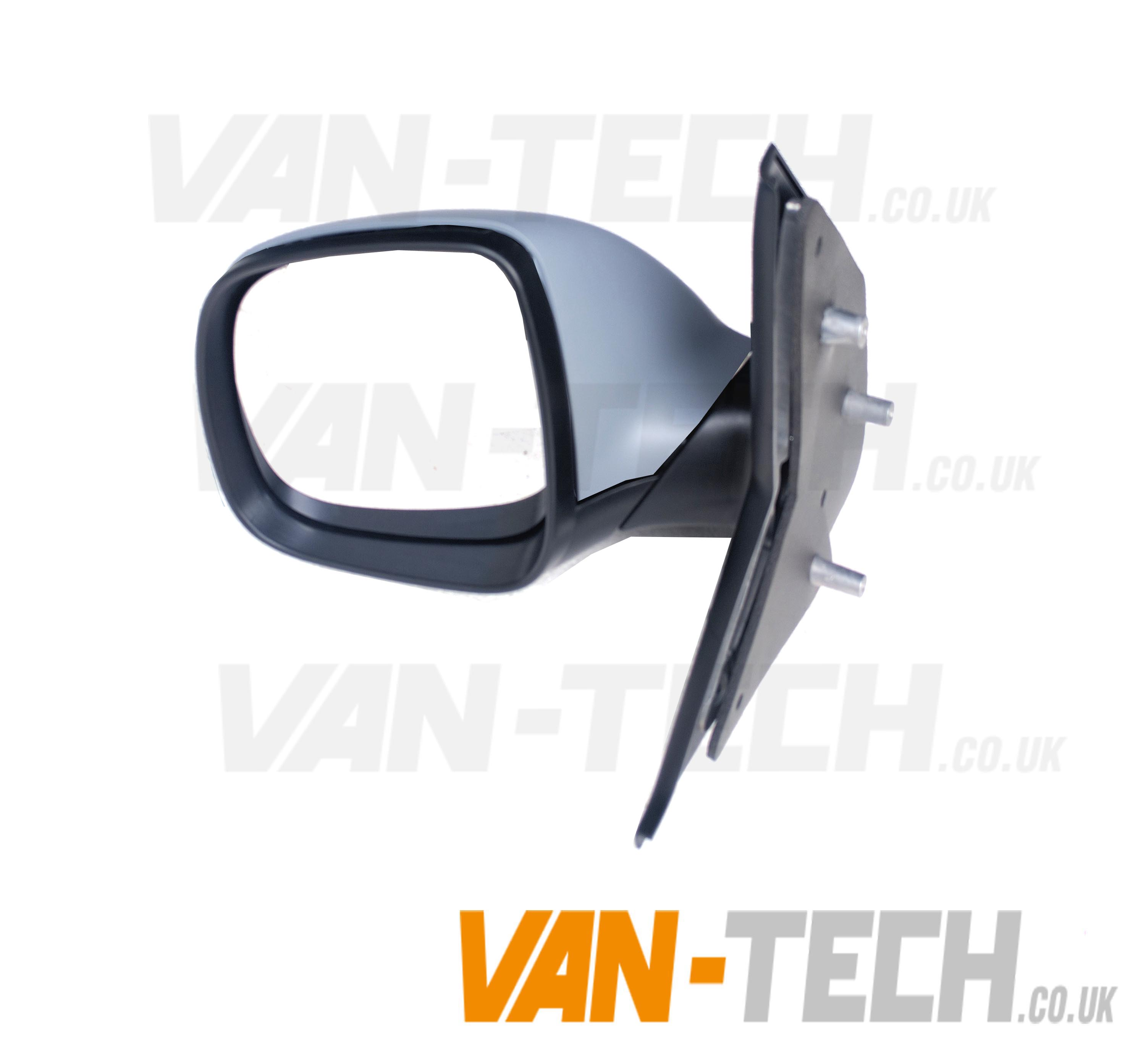 Vw T5 Replacement Wing Mirrors With Primed Covers Pair