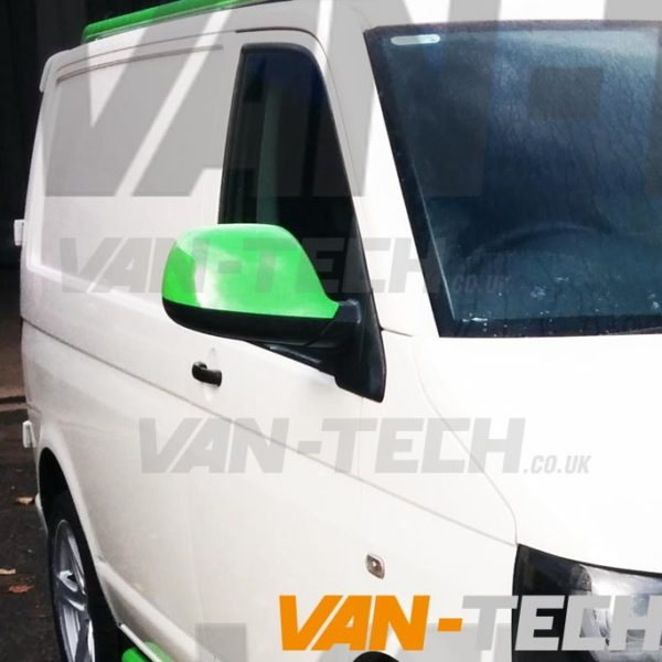 VW Transporter T5.1 Wing Mirror Covers Primed 2010- 2015