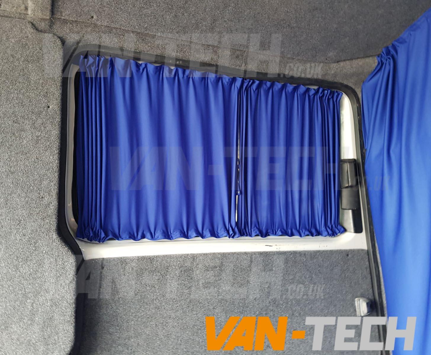Vw T5 Van Transporter Interior Curtain Side Loading Door Van Tech