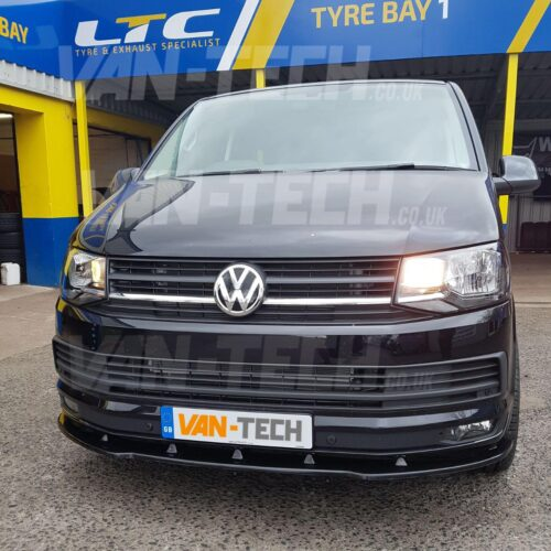 VW Transporter T6 Van Front Bumper Lower Splitter / Spoiler
