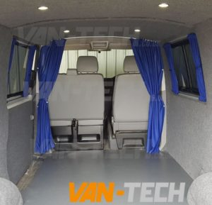 The Summer Camping Season Will Soon Be Here, Why Not Add Some Curtains To  Your VW Transporter For A Bit Of Added Privacy For Those Trips Away!