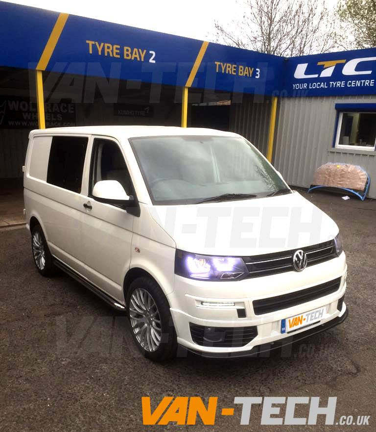 VW Transporter T5 To T51 Conversion Kit Painted And Fitted