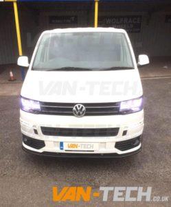 Vw T5 1 Sportline Style Front Bumper And Splitter Van Tech