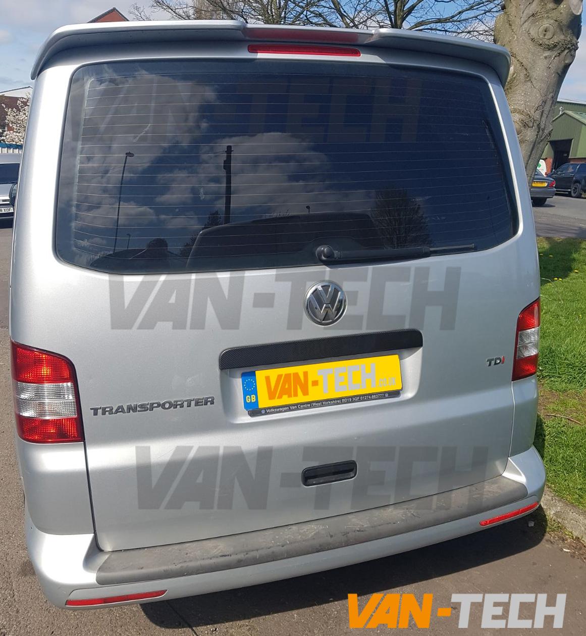 Vw T5 Rear Grab Handle Cover Carbon Fibre 2003 Van Tech
