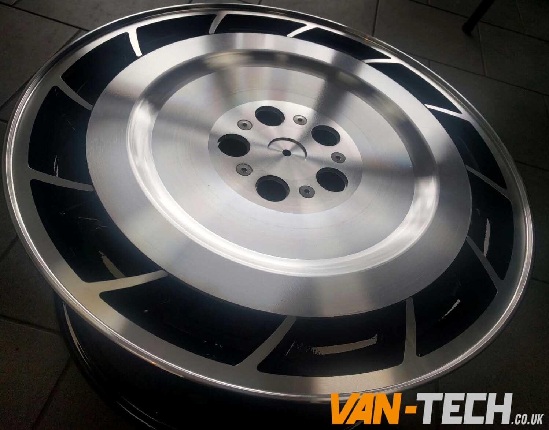 Vw T5 T5 1 T6 Calibre Turbine 20 Quot Alloy Wheels Black