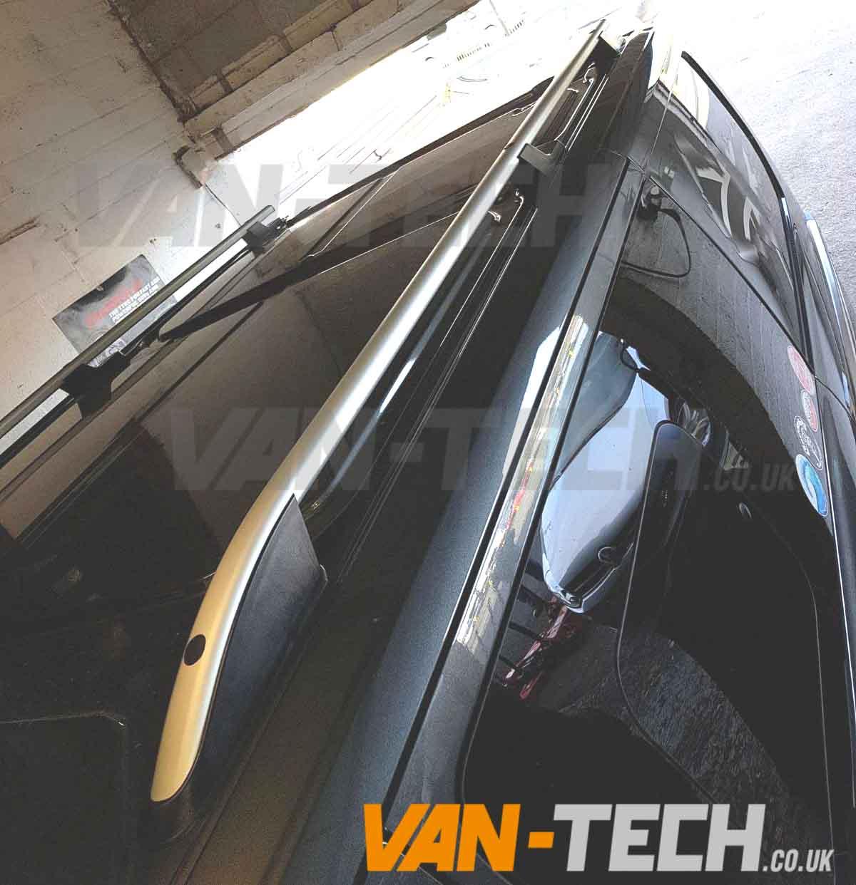 Ford Transit Custom Aluminium Roof Rails Van Tech