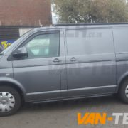 VW Transporter t5 fitted with CS Lite 20 inch alloy wheels (4)