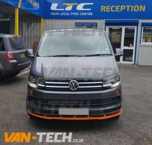 Vw Transporter T6 Accessories Colour Coded And New Wheels Van Tech