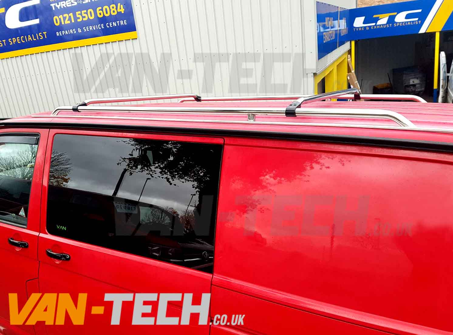 Vw T5 T5 1 T6 Stainless Steel Roof Rails And Cross Bars