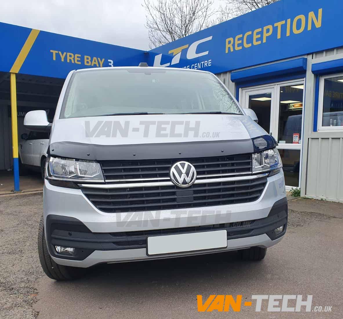 VW Transporter T6.1 Parts and Acessories Wind Deflectors, Bonnet Deflector and Rear Bumper Protector!