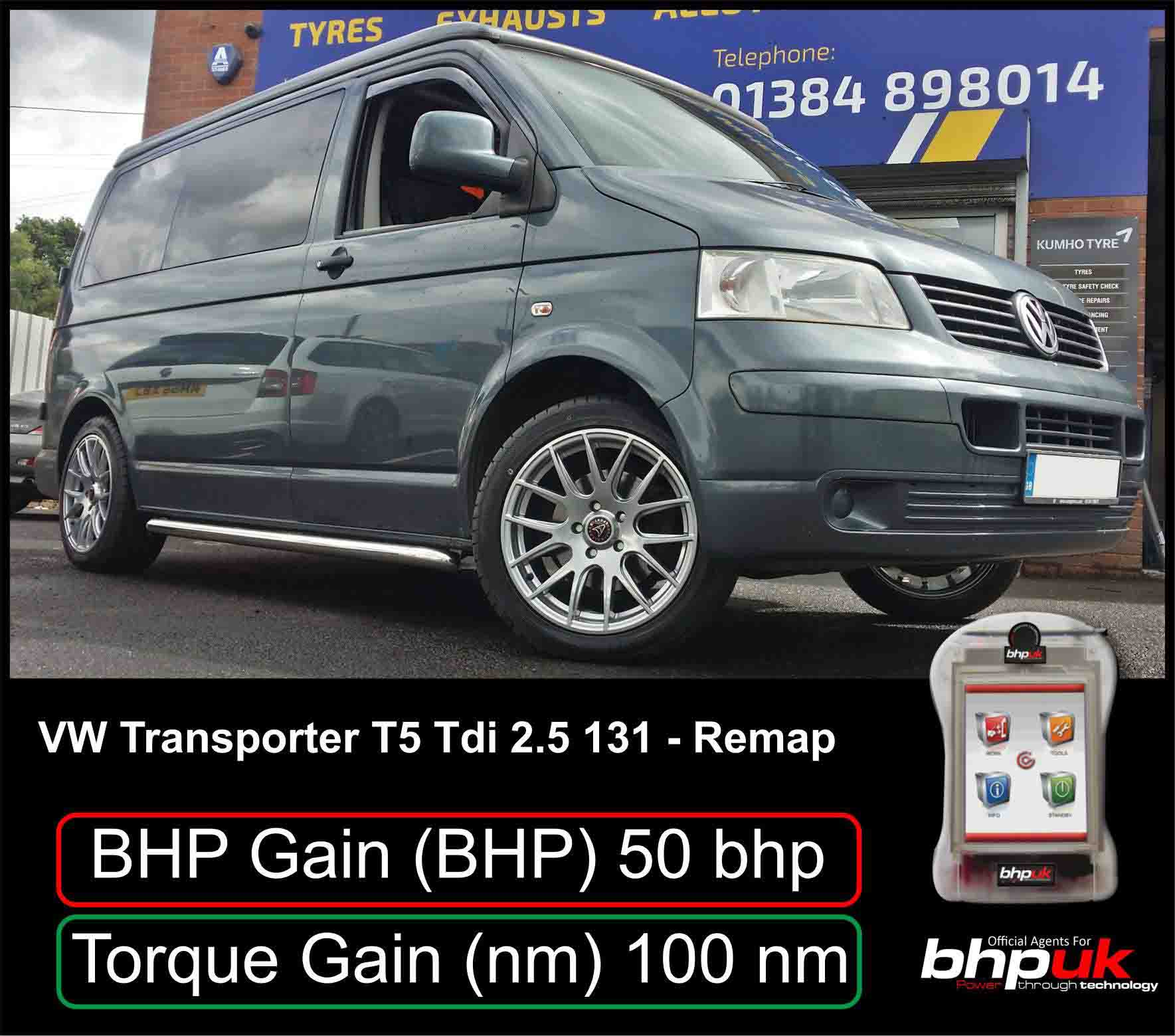 vw t5 ecu remapping engine type tdi 2 5 131 remap van tech. Black Bedroom Furniture Sets. Home Design Ideas