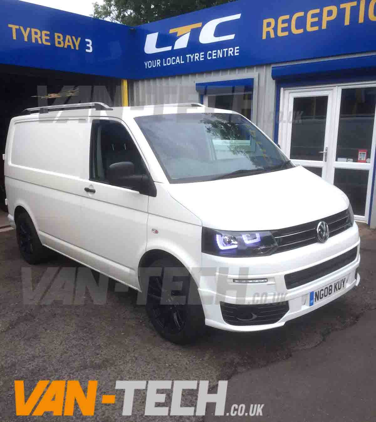 sold vw transporter t5 white swb t5 1 9 van van tech. Black Bedroom Furniture Sets. Home Design Ideas