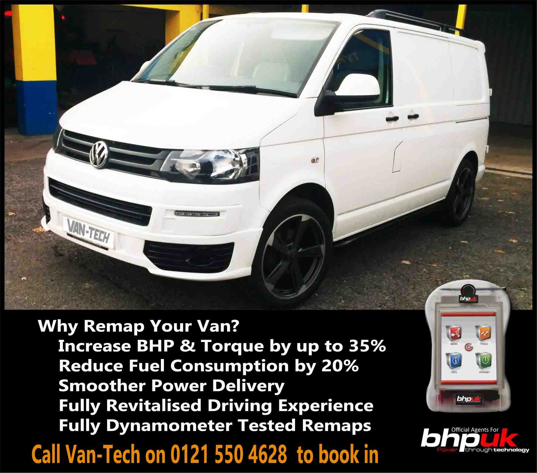 VW Transporter T5 ECU Remapping now available at Van-Tech