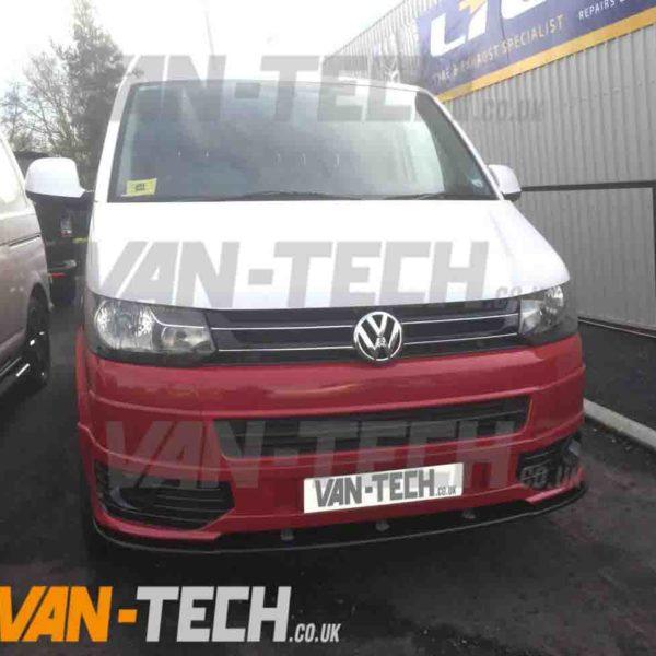 Vw T6 Transporter Conversion West Midlands >> VW T5 Transporter GP Grille Carbon Fibre 2010 - | Van-Tech