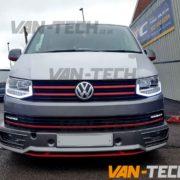 VW T6 DRL LED Light Bar Head Lights Transporter Volkswagen (3)