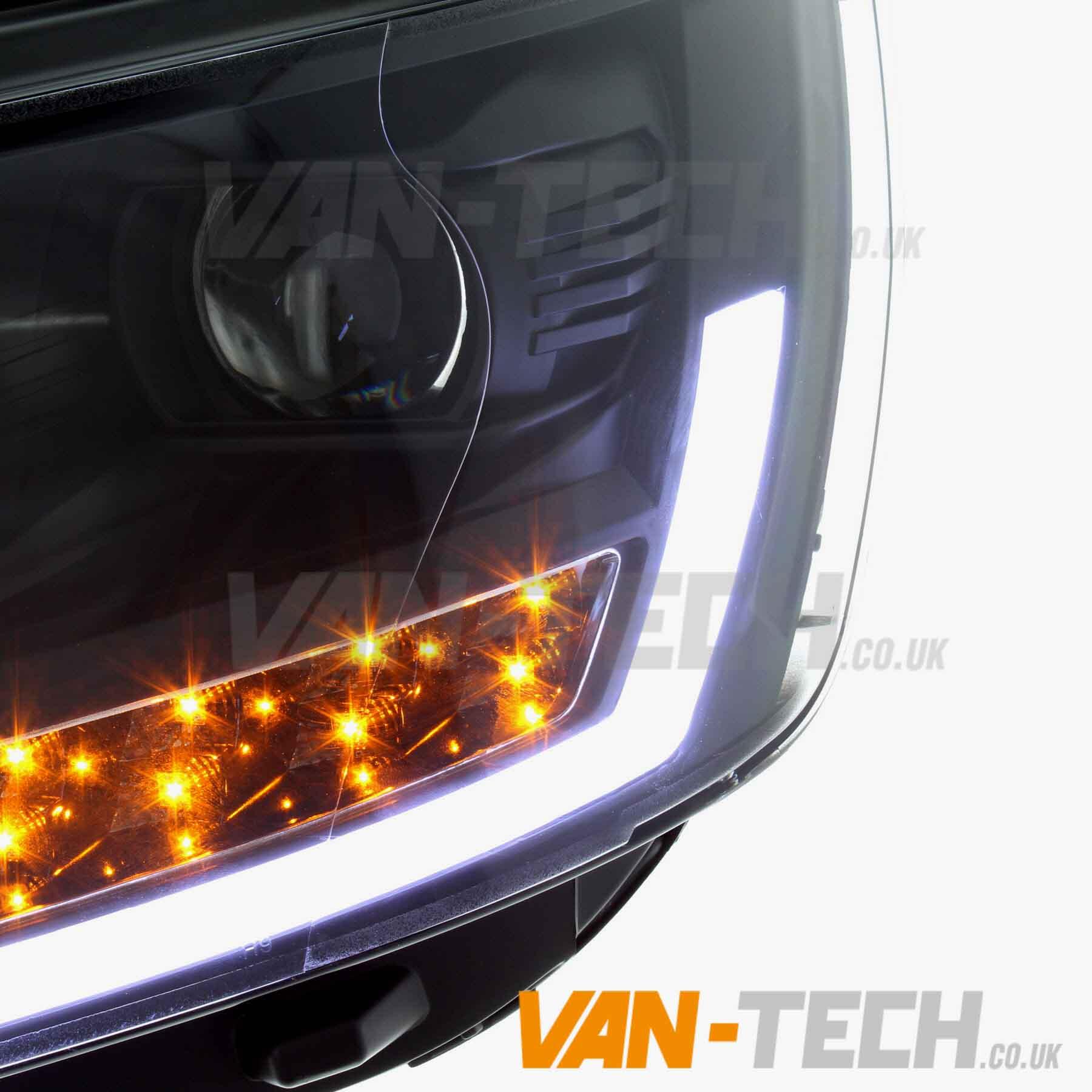 ... Vw T5 Transporter Van Head Lights DRL Light  ...