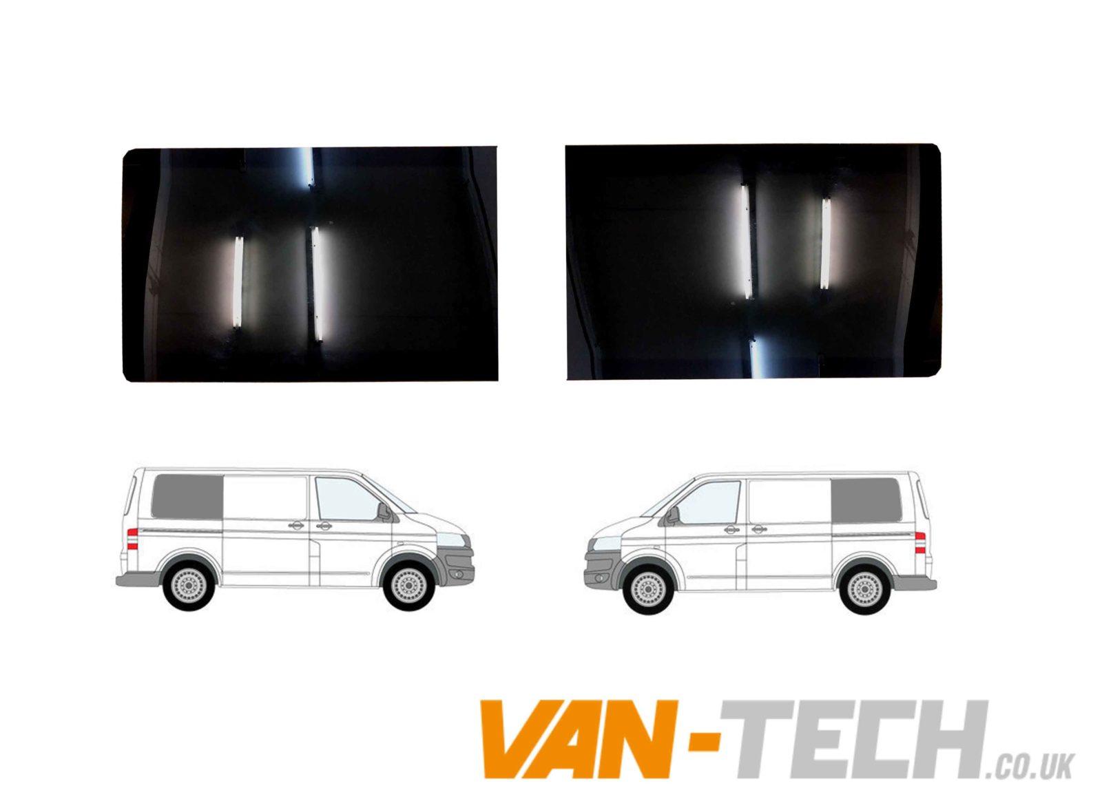 *NEW* VW T5 T5.1 T6 Window Privacy Glass DRIVERS REAR QUARTER SWB