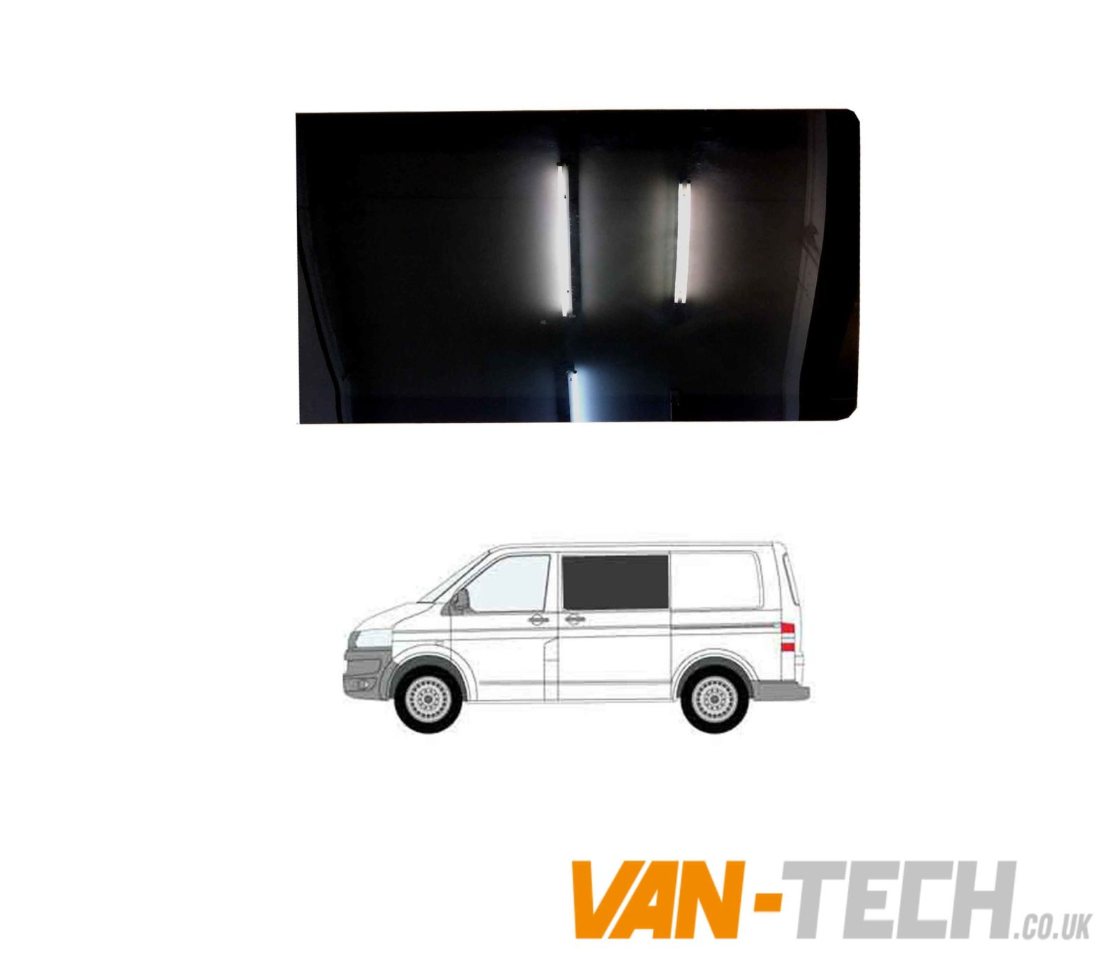 Renault Traffic Driver Side And Passenger Side Fixed Privacy Windows 2001-14