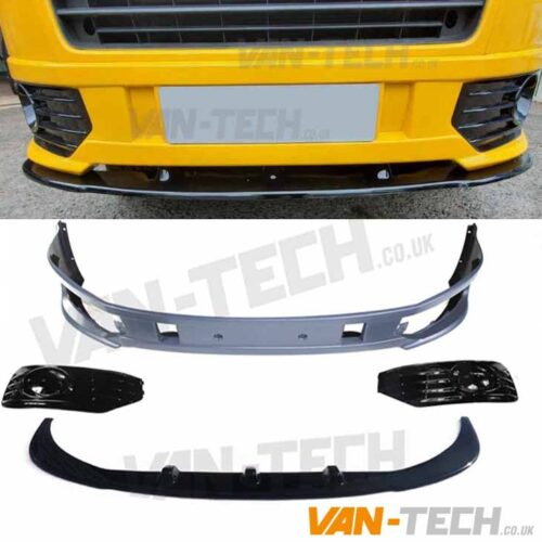 VW T5.1 Sportline Bumper and Lower Splitter Combo