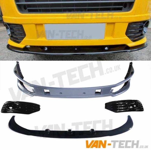 VW T5.1 Sportline Bumper and Lower Splitter Combo