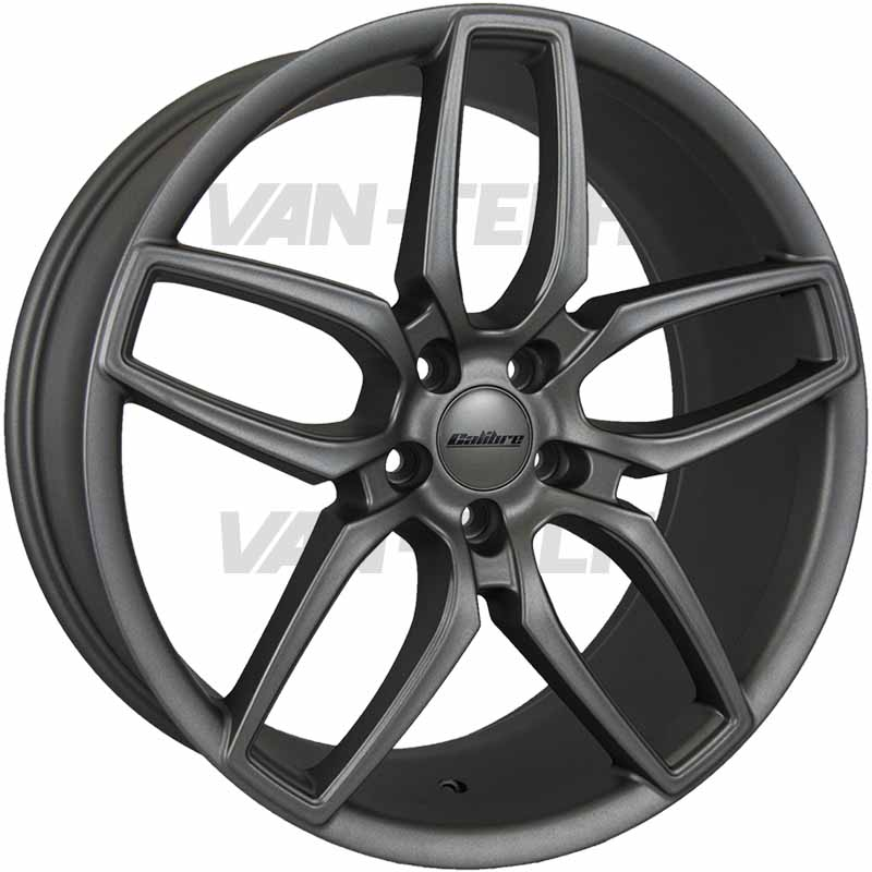 "VW T5 T5.1 T6 Calibre CC-U Alloy Wheels 20"" Gun Metal"