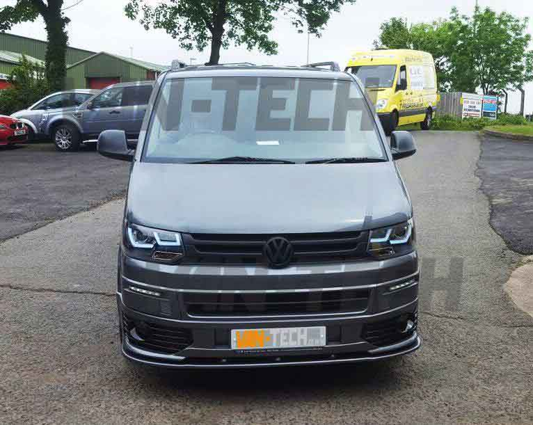 Vw T5 1 Sportline Bumper And Lower Splitter Combo Van Tech
