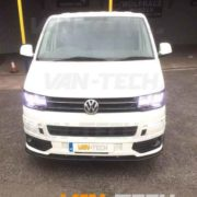 VW transporter lower bumper sportline and lower splitter combination t5.1 van-tech (1)