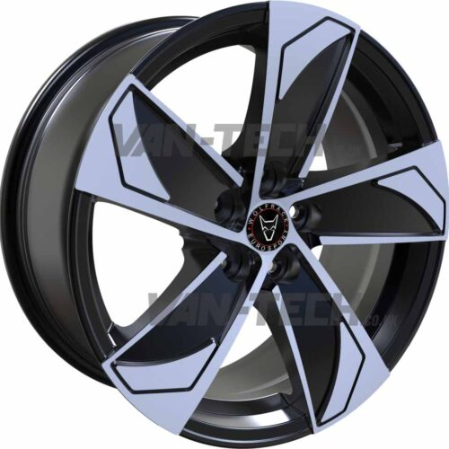 Wolfrace AD5 Alloys Wheels