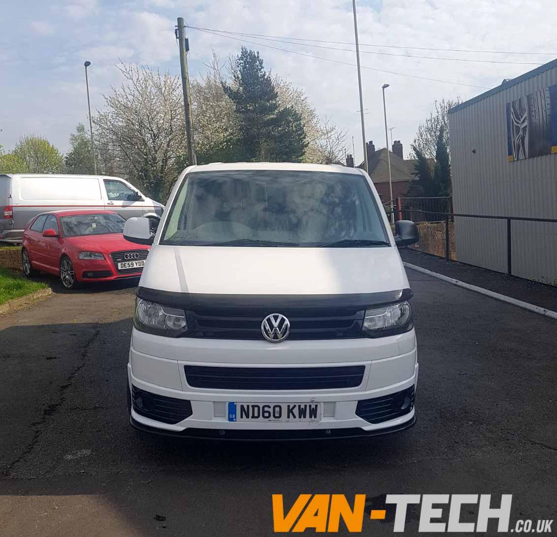 Sold Volkswagen Transporter White T5 1 2010 2 0l Diesel