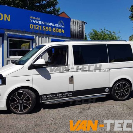 VW Transporter T5 fitted with Accessories