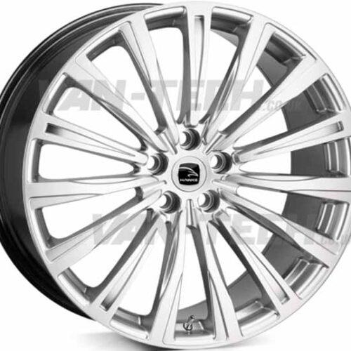 """VW T5 T5.1 T6 Hawke Chayton Chayton 20"""" Alloy Wheels Silver"""