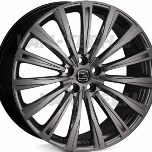 "VW T5 T5.1 T6 Hawke Chayton Chayton 20"" Alloy Wheels Matte Black"