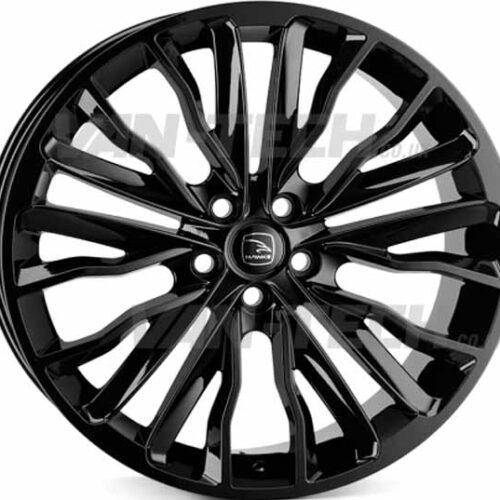"VW T5 T5.1 T6 Hawke Harrier 20"" Alloy Wheels Gloss Black"