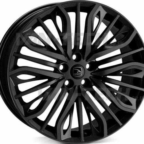 "VW T5 T5.1 T6 Hawke Vega 20"" Alloy Wheels Black"