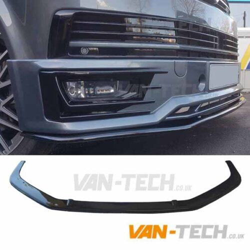 VW Transporter T6 Van Sportline Front Lower Splitter