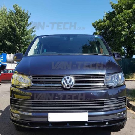 VW T6 Fitted with Side Bars, Lower Spiltter and Roof Rails