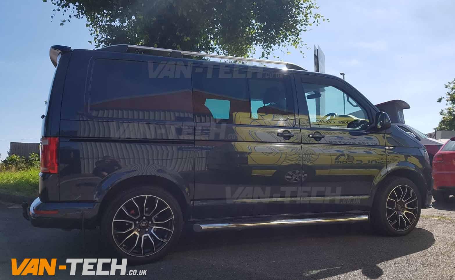 Aluminium Roof Bars Rails For VW T5 2003–2015 T6 Transporter Long Wheelbase