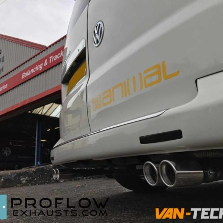 VW T5 fitted with a Proflow Stainless Steel Custom Exhaust