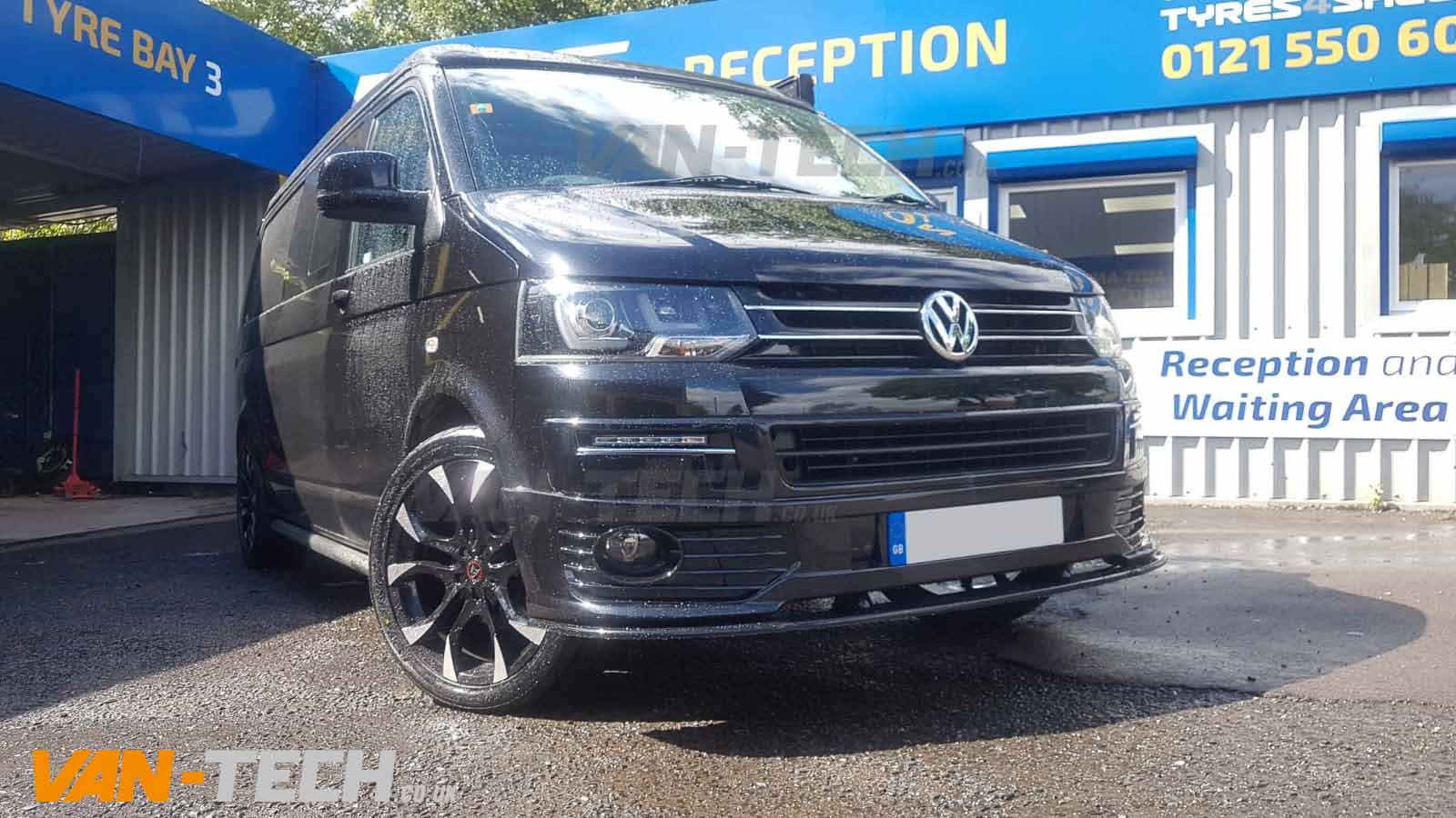 VW T5 to T5.1 Facelift Front End Conversion, Side Bars