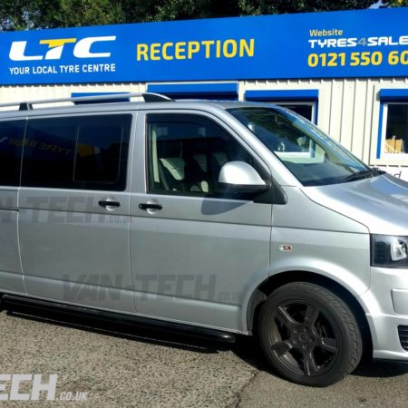 VW Transporter T5.1 fitted with lots of Van-Tech products