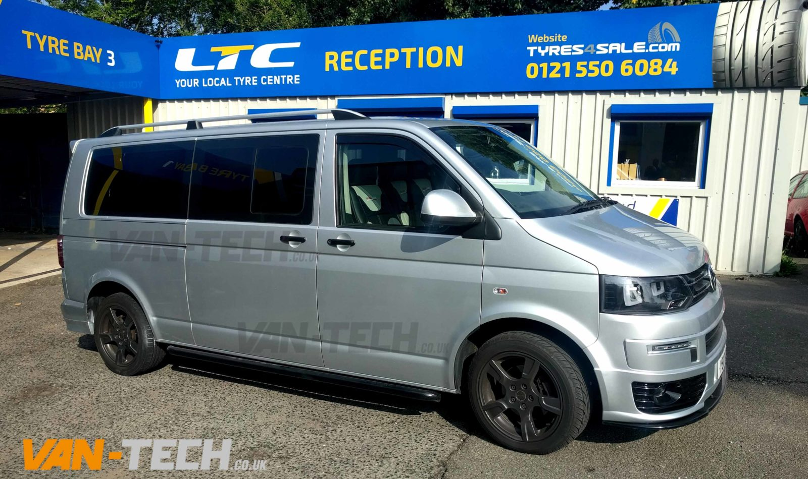 Mercedes Sprinter Lift Kit >> VW Transporter T5.1 fitted with lots of Van-Tech products