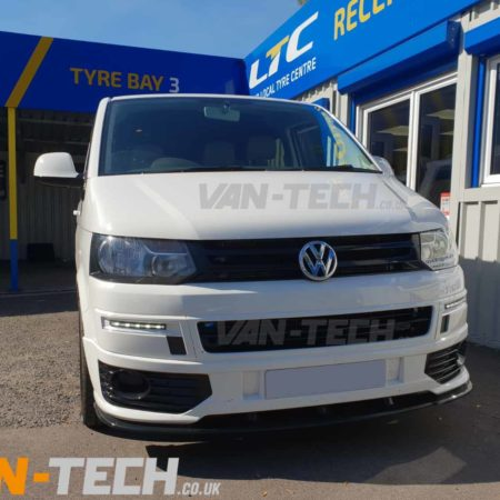 VW T5.1 fitted with Sportline Bumper, Splitter and Side bars
