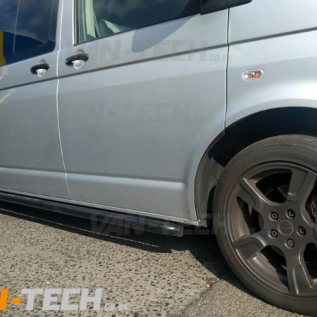 VW T5 T5.1 T6 Side Bars Black Sportline O.E Style