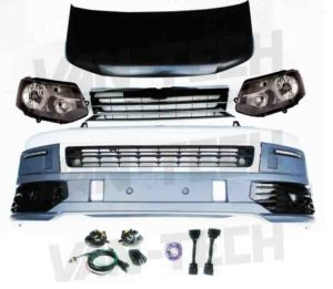 VW T5 to T5.1 Front End Conversion Styling Pack