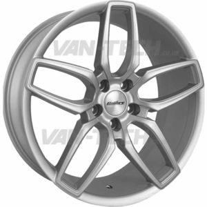 "VW T5 T5.1 T6 CC-U 20"" Alloy Wheels Silver"
