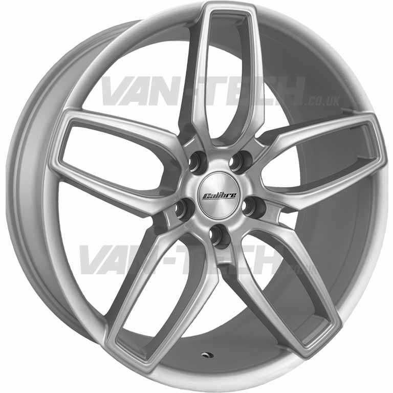 "VW T5 T5.1 T6 Calibre CC-U Alloy Wheels 20"" Silver"