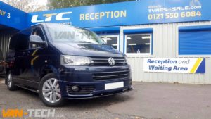 VW T5 fitted with Sportline Bumper Splitter and Side Bars