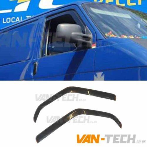 VW T4 Stick in Channel Wind Deflectors