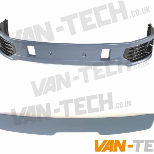 VW T5.1 Sportline Bumper and Tailgate Door Spoiler
